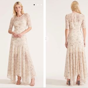 VERONICA BEARD Balsam Eyelet chiffon🍁🍂 dress 0